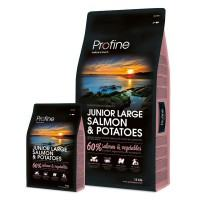 Profine junior large breed zalm & groente 3kg