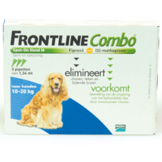 Frontline combo spot on hond medium 3 pipetten